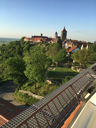 Wonderful views of picturesque Waldenburg.