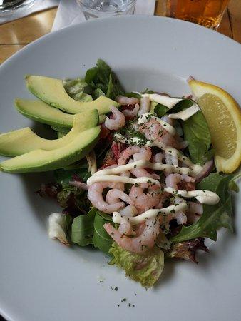 Bag O' Nails: Prawn and Avacado salad