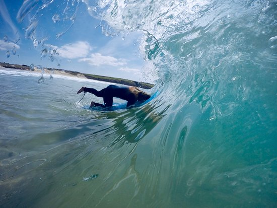 Base Surf School: Duck Diving Through Crystal Clear Waves