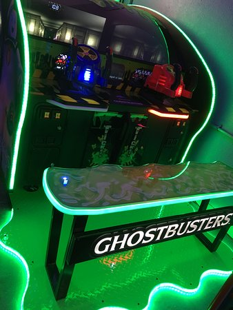 NickelRama: GhostBusters is played with real nickels.