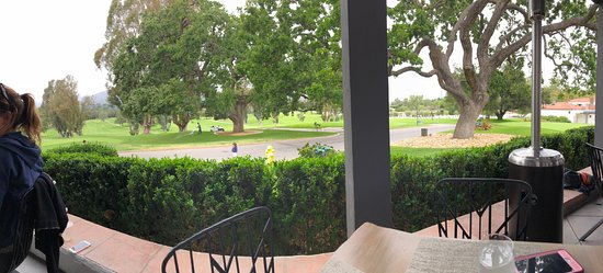Ojai Valley Inn: The Oak's view