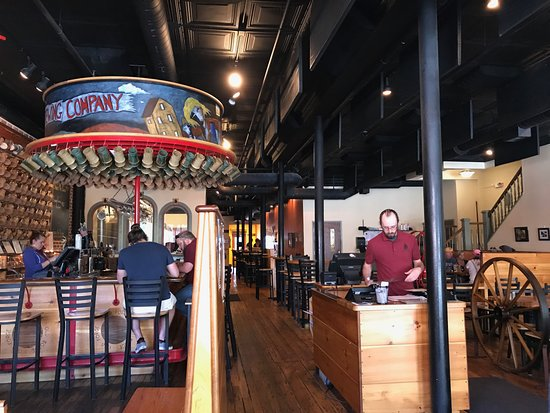 Old Forge Brewing Company: Seating