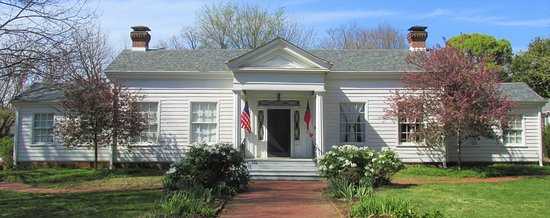 Fayetteville, AR: Headquarters House Museum - House built in 1853