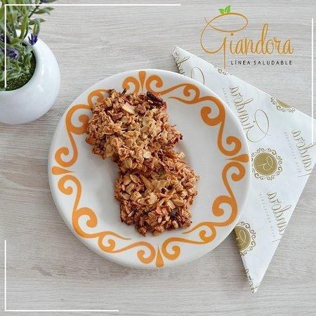 Giandora Alta Pastelería: galletas de avena sin azucar