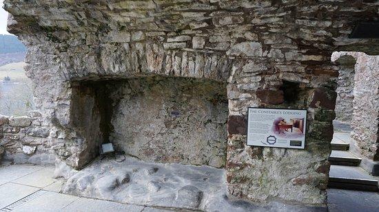 Urquhart Castle: A bit drafty