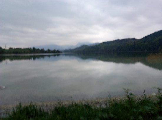 Weißensee: это озеро вечером