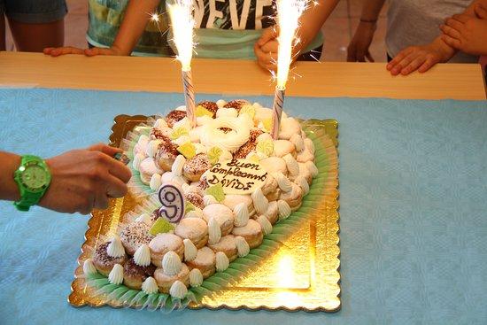 Torta Compleanno Bombolini Foto Di Pasticceria Cassandrini Zevio