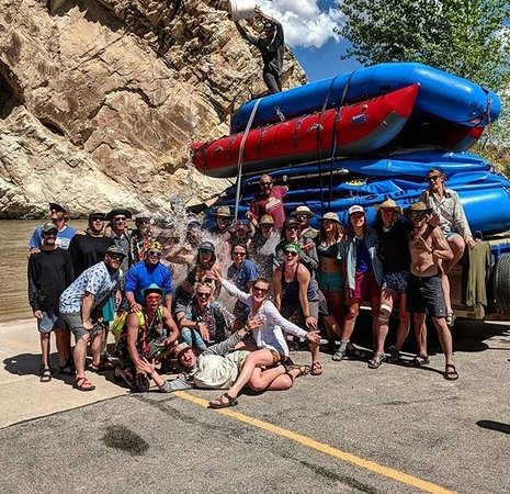 Adrift Adventures Dinosaur National Monument: shenanigans continue off the river
