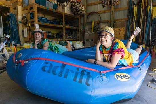 Adrift Adventures Dinosaur National Monument: excited to get out on the river
