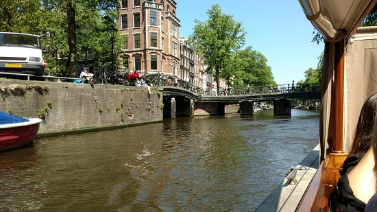 Jordaan Food Tour: view from boat