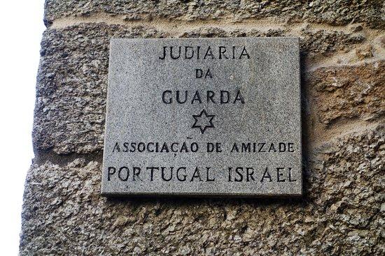 Judiaria da Guarda: Placard