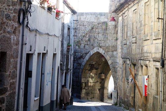 Guarda, Portugal: Portão de acesso