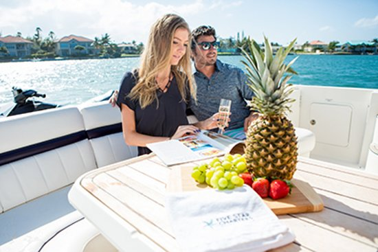 Five Star Charters Cayman: We offer two time-based packages for you to customize
