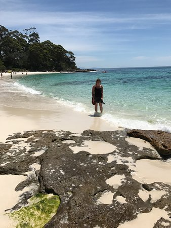 Vincentia, Australia: Another beautiful beach just moments away from our bed and breakfast Sanddancers.