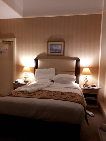 The Grand Hotel: Bed area