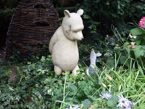 Gardens by the Bay: Even Winnie the Pooh was there