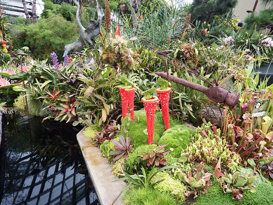 Gardens by the Bay: Lego plants