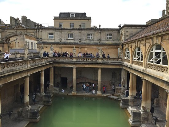 Roman Baths Museum : Main area