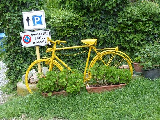 """Agriturismo La Mussia: """"ze"""" hebben iets met fietsen of is het de Giro koorts?"""