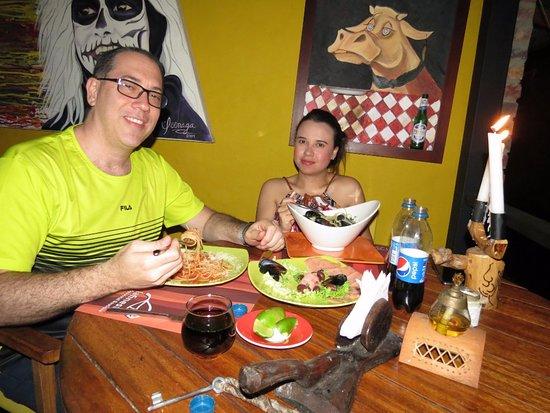 Restaurante La Barcaccia: Felices