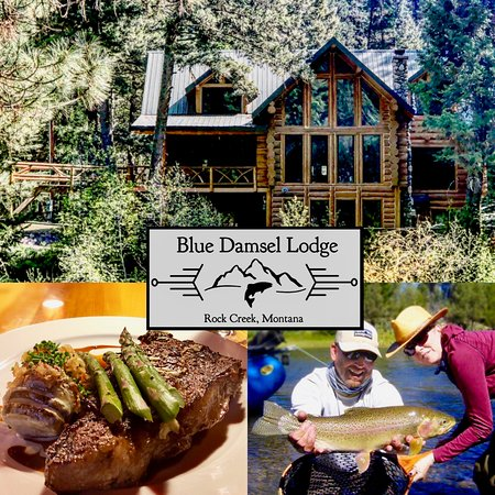 Clinton, MT: Overview of Blue Damsel Lodge