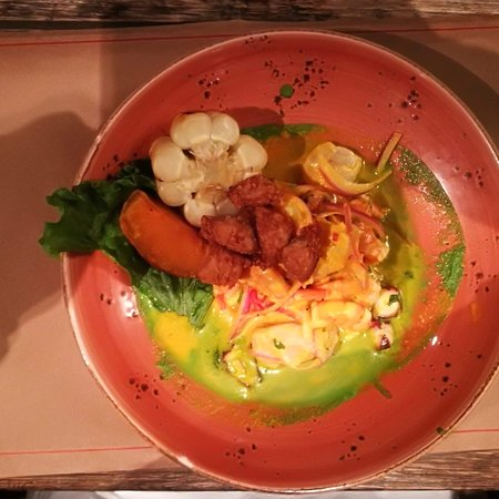 Mangos: Mangoes cooked ceviche