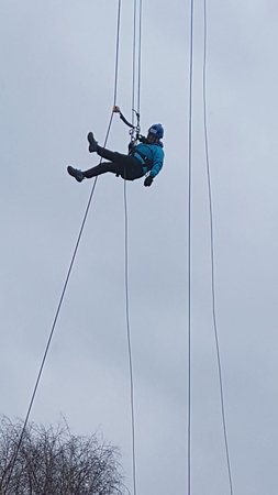 Abseil the ArcelorMittal Orbit: Last bit!