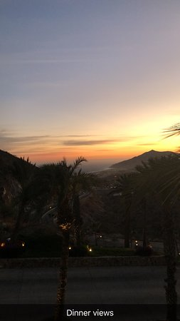 Pueblo Bonito Sunset Beach Golf and Spa Resort: View from dinner at Monticresto