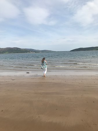 Rathmullan, İrlanda: Beach
