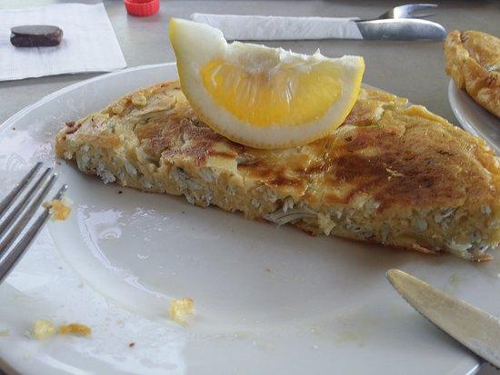 Mokau, Nueva Zelanda: The whitebait fritter - yum