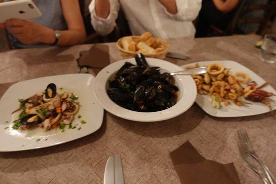 La Gondola: Scampi with Homemade fresh pasta