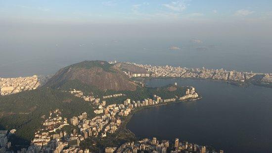 Corcovado - Cristo Redentor: Vista da cidade