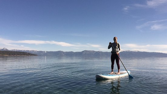 Tahoe City, CA: Big blue!