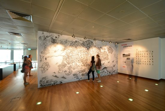 Singapore City Gallery: Located within the permanent gallery, this is City Canvas - a community art space