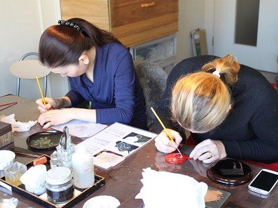 Oody: Japanses lacquerware workshop 1