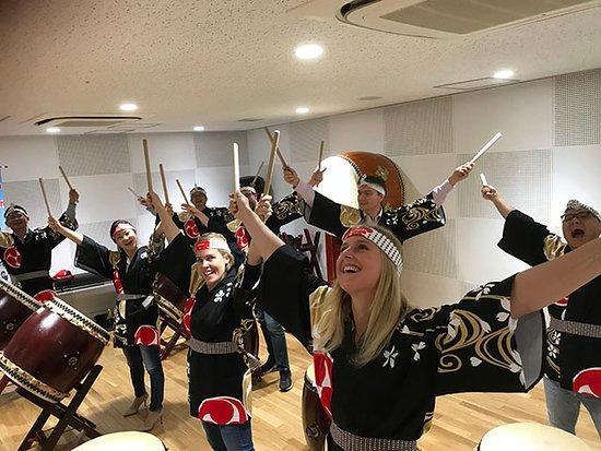 Oody: Taiko drum workshop 1