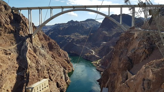 Hoover Dam: Road bridge