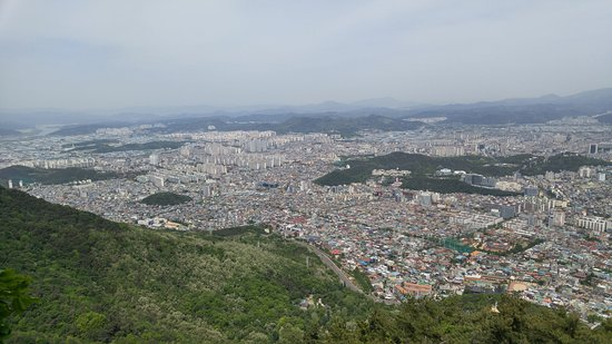 Apsan Park: View from the observatory