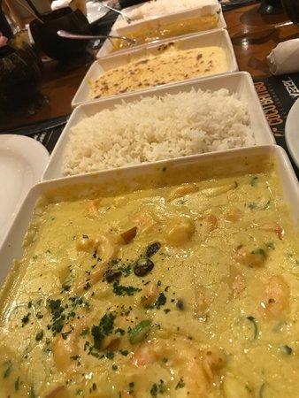 Coco Bambu JK: Garnelen mit Curry