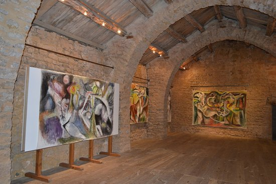 Saint-Jean d'Alcas, France: l une des pièces d expositions