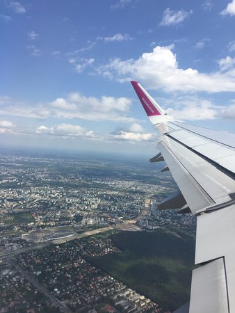 Wizz Air: Last view over Warsaw