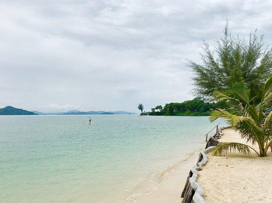 The Naka Island, A Luxury Collection Resort & Spa Phuket: SUPをしてみた