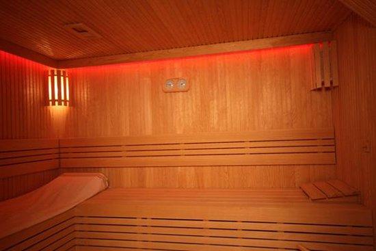 Q Inn Hotel Old City: Sauna