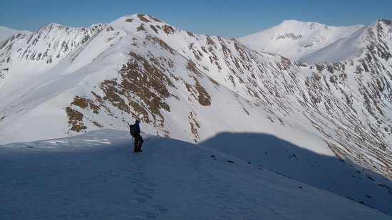 Lochaber, UK: Prt of the main Mamore Ridge, just brilliant walking,I guide here