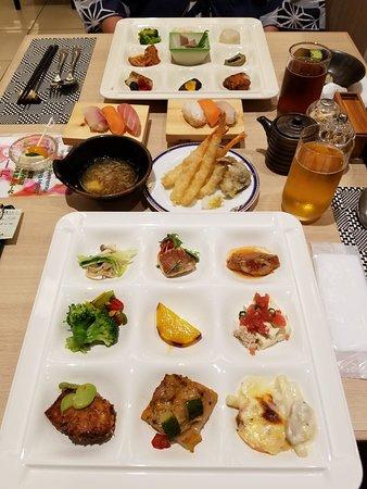 Hotel Green Plaza Hakone: Dinner buffet