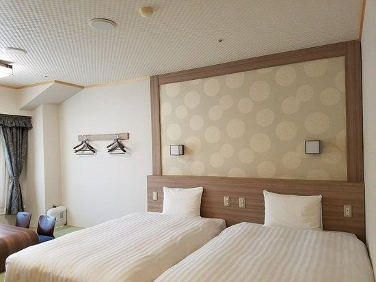 Hotel Green Plaza Hakone: Our room