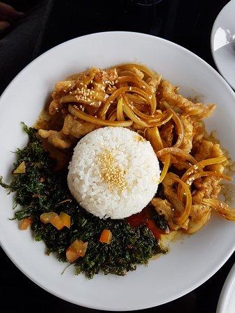 Gold Star Sport, Cafe & Lounge: Food
