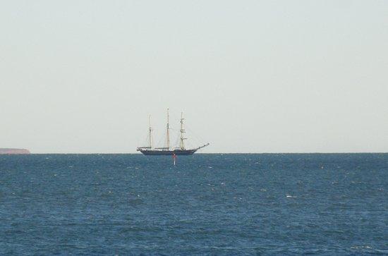Monkey Mia, Australia: Some ships on the horizon