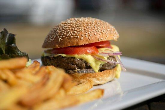Restaurant Le Castel - Brit Hotel Rennes: Burger du Castel