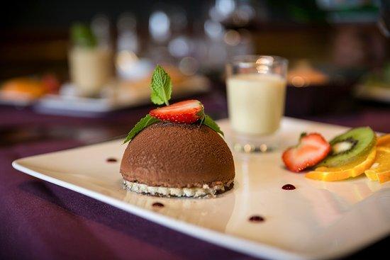 Restaurant Le Castel - Brit Hotel Rennes: dessert